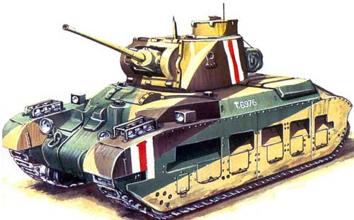 Британский танк Матильда