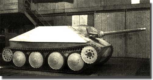 Прототип САУ Sturmgeschutz nA