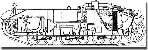 Заводские чертежи шасси танка pz kpfw ii