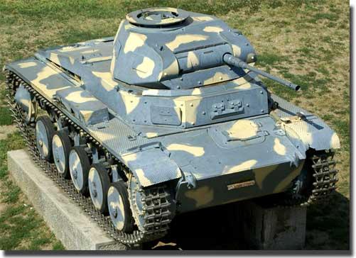 Танк Т-II - Боевое применение