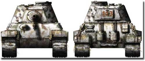 Sd.Kfz.182 Pz.Kpfw VI Ausf.B Tiger II з серійної вежею