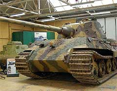 Тигр-II в Бовінгтонском музеї