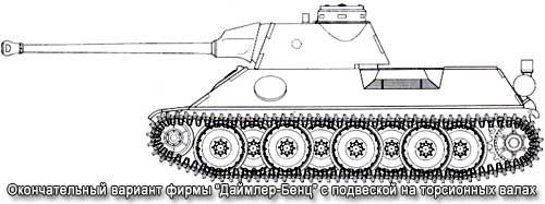 Вариант танка Пантера
