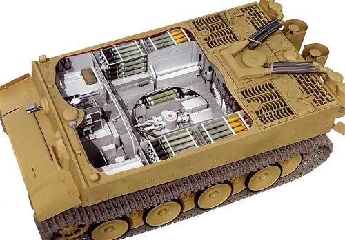 Снаряды танка Тигр