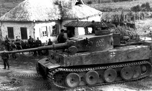S Pz Abt 502 тяжелый танковый батальон  Танк Tiger Pz