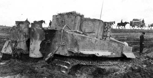 Танк т vi h тигр танк тигр в бою