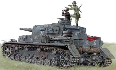 танке PzKpfw IV.