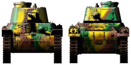 Японский средний танк чи ха тип 97