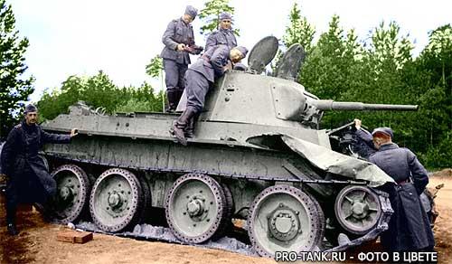 и бронетехника. Цветные фотографии ...: pro-tank.ru/bronetehnika-sssr/legkie-tanki/123-bt-7