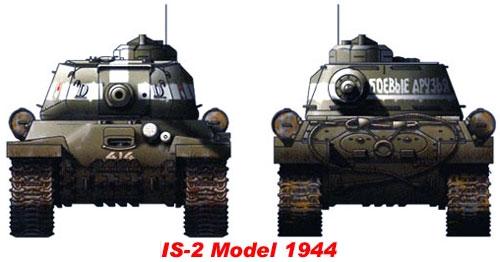 Компоновка тяжелого танка ис