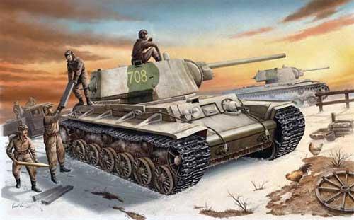 командира роты танков КВ-1