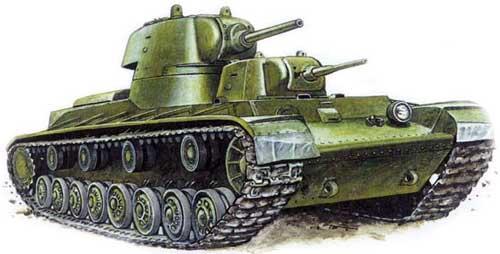Танк КВ-1 - Создание и модернизация