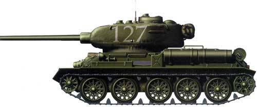 Танк ОТ-34-85