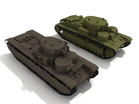 Танки Т-28 и Т-35
