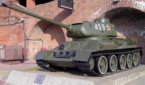 Из истории бронетехники - И. Мощанский - Средний танк Т-34-85 ...