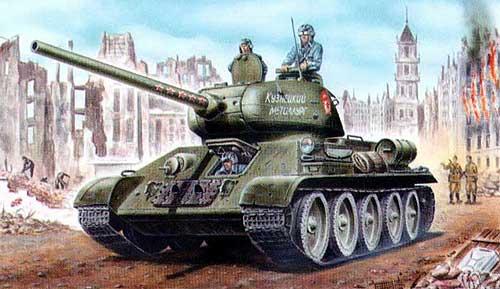 Танк Т-34-85 - Модификации и боевое применение