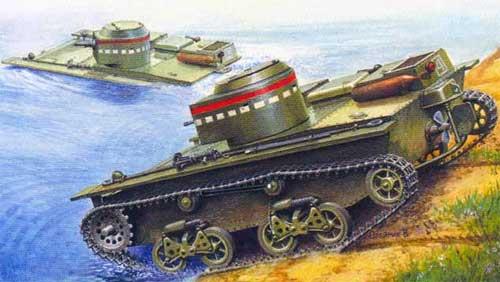 Плавающий танк т 38 масоово применялся