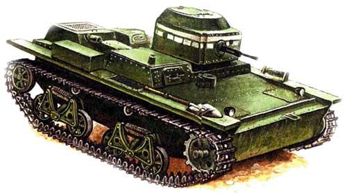 малый плавающий танк