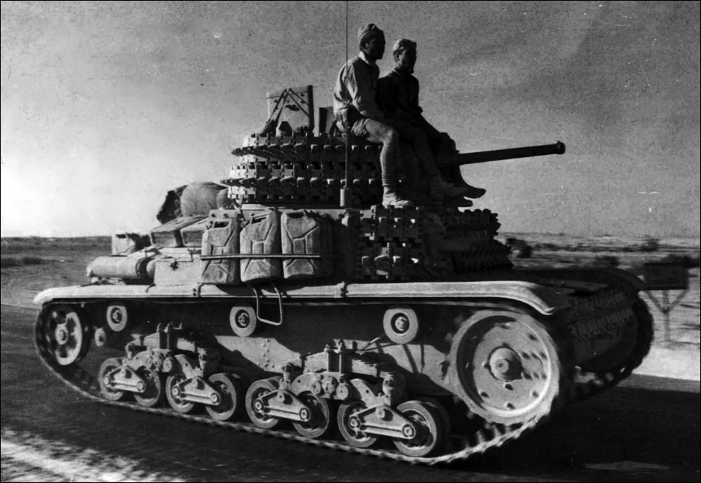 Немецкие танки pzkpfw iii в северной