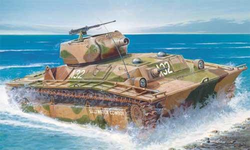 Плавающие танки lvт а 1 и lvt а 4