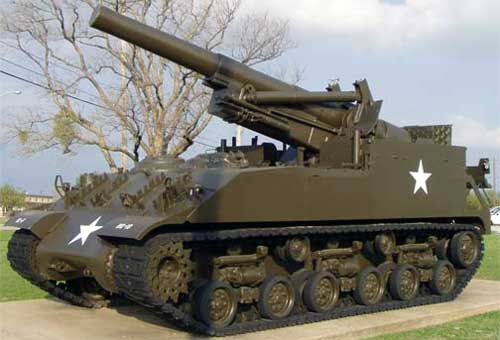 8 inch Howitzer Motor Carriage M43