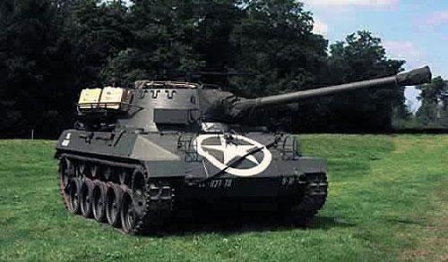 Самоходная установка М18