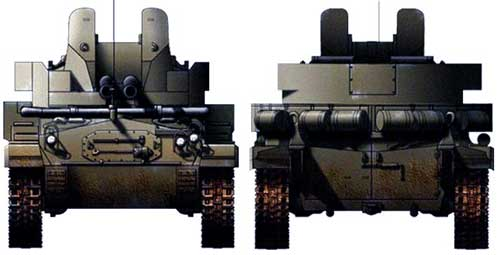 Twin 40mm Gun Motor Carriage M19