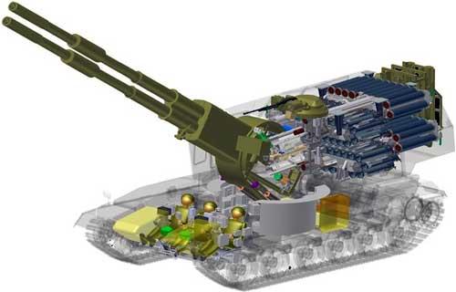 Новое танковое шасси обладает
