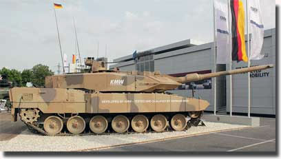 Немецкий танк leopard 2a7
