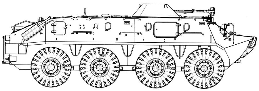 БТР-60ПБ 1965 г.