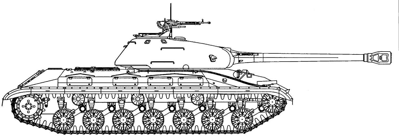 Схемы советских тяжелых танков