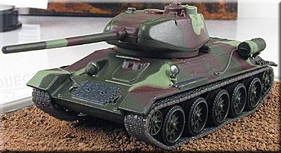 Фото модели танка Т-34-85 полубоковая ...