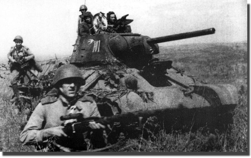 Огнеметный танк от 34 uз состава 15 й