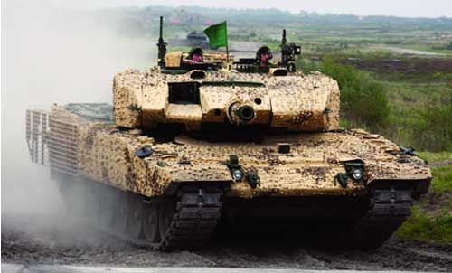 Canada's newest tank the leopard 2 a4m was officially presented to