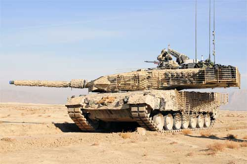 Танк Leopard 2A6