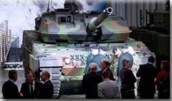 Танк Leopard 2A7