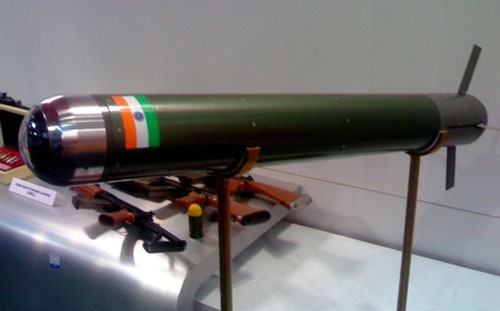 Cannon-launched Laser Guided Missile