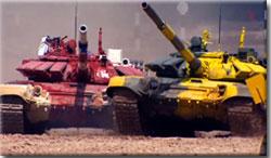 Заезды №№ 6, 7, 8 Танкового биатлона
