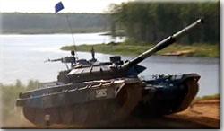 Россия выходит вперед в Танковом биатлоне
