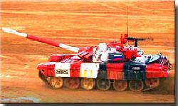 Танковый биатлон–2019: Российский экипаж