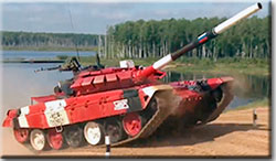 Танковый биатлон–2020