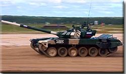 Танковый биатлон–2021