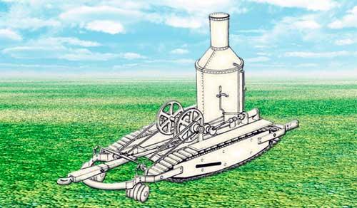 Идея парового трактора