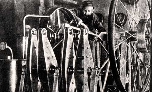 Огнеслав Костович и его двигатель