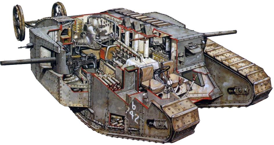 """Результат пошуку зображень за запитом """"марк 1 танк"""""""