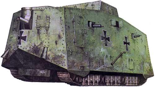 Танк A7V