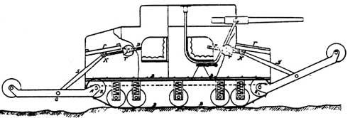 Проект обер-лейтенанта Гюнтера Бурштына (Gunther Burstyn).