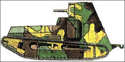 Германский танк LK-II