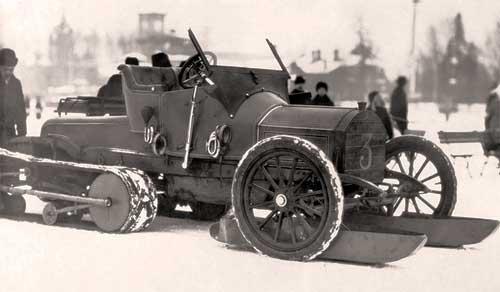 Авто-сани Кегресса на базе Mercedes