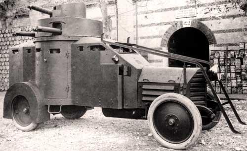 Бронеавтомобиль Lancia 1Z